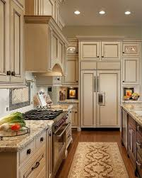 Simple And Elegant Cream Colored Kitchen Cabinets Design Ideas 105
