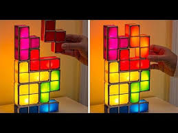 Tetris Stackable Led Desk Lamp India by This Tetris Desk Lamp Is Your New Work Distraction Youtube