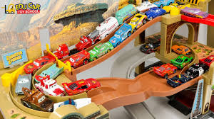 100 Mack Truck Playset Learning Color Number With Disney PIXAR Cars Lightning McQueen