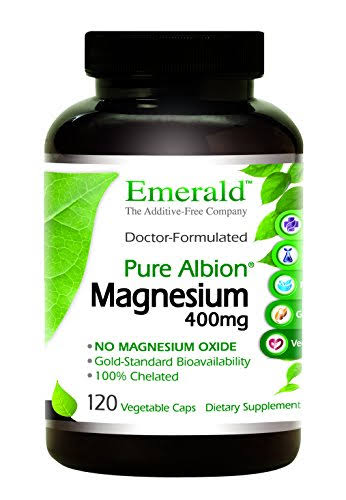 Emerald Labs Magnesium 400mg Pure Albion Chelated Gold