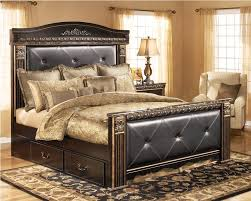 Ashley Furniture King Sleigh Bed Awesome Best Choice For Home Size