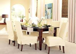 Short Back Dining Chairs Slipcovers With New Design Model Chair Inside Plan 9