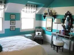 Best Room Wall Color For Teenage Living Simple Stripped Paint Ideas Girls Bedroom