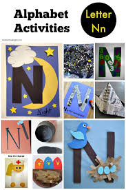 Letter N Alphabet Activities For Preschool Kindergarten And Even Early Elementary A Round