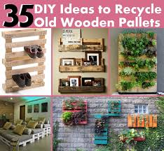 Never Consider Your Old Wooden Pallets As Waste And Do Not Dare Throw Them Out Because Can Be Used In Innumerable Ways That Only