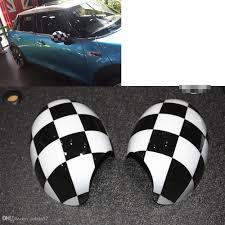2x Black White Checker Side Mirror Covers Caps For Mini Cooper R55 ... Tyger Abs Triple Chrome Plated A Pair Mirror Covers 9706 Ford Putco Peel And Stick Installation Replacement Carbon Fiber Cf Mirror Covers For Bmw F10 F30 F26 F16 Upgrade Performancestyle Ugplay Towing Mirrors 2pcs Landrover Discovery 3 And 4 05 Onwards Stainless Steel Polaris Slingshot Side View By Tufskinz Agency Power Carbon Fiber Door Set Of 2 Mini Cooper Avs 687665 42018 Chevy Silverado Trim Vw Touareg 2008 2011 Silver Wing Cap 52016 F150 Skull Replacement