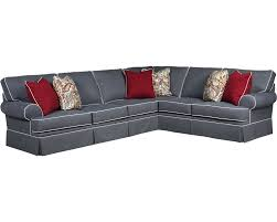 Sectional Sofa For Living Room Gray Leather Jenna Apartment Set Design Broyhill Furniture Decor Emily