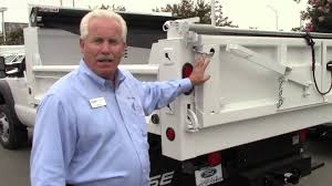 9' Steel Dump W/Many Options On F450 Gas Chassis - YouTube