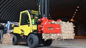 The Hyster 'cool Truck' For Paper And Recycling Industries In Action ...