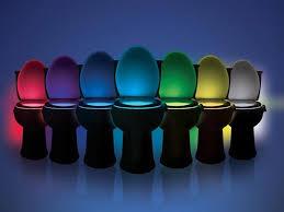led licht für das badezimmer mit bewegungsmelder 8 farben