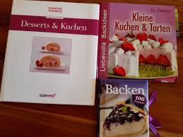 3 backbücher kuchen torten desserts backen in 71364