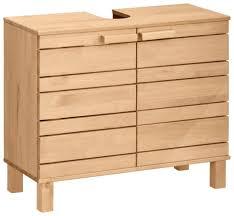 home affaire waschbeckenunterschrank jossy aus massivholz breite 70 cm kaufen otto