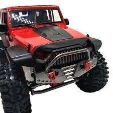 100 Axial Rc Trucks 110 Scale RC TRUCK ALUMINUM FRONT BUMPER BULL BAR WITH Shackle For