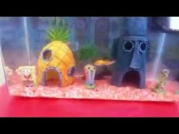 Spongebob Fish Tank Ornaments by Best Spongebob Square Pants Aquarium And Accessories Youtube
