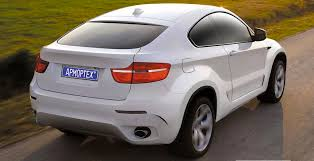 BMW X6 2 door conversion by AmorTech
