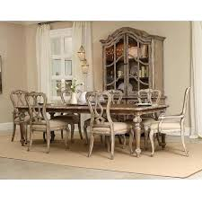 ortanique round dining room set glass furniture rectangular table