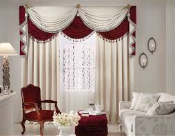 Valances For Large Windows White Fabric Vertical Curtain Decorative Reclaimed Wood Grey Metal Arc Floor Lamp