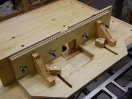 table saw wing for router and tilting lift