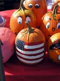 American Flag Pumpkin Carvings by National Pumpkin Day U2013 October 26