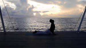100 W Retreat And Spa Maldives Maldives Yoga At Sunrise