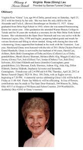 Delta School Employee Obituaries Wesley Berry Obituaries Fredericksburgcom Obituary Ernie Barnes Professional Football Player Who Became Marvin Virginia Beach Family Choice Charles Montross Storke Funeral Home Sheryl Leatrice Portsmouth Legacycom Ruth Jackson Missouri Obit Debra Lee September 29th 2017 Central Mo July 2014 Emporia News Betty Chesterfield Va Joe Ann Martin 78 Cosmetologist And Tpreneur