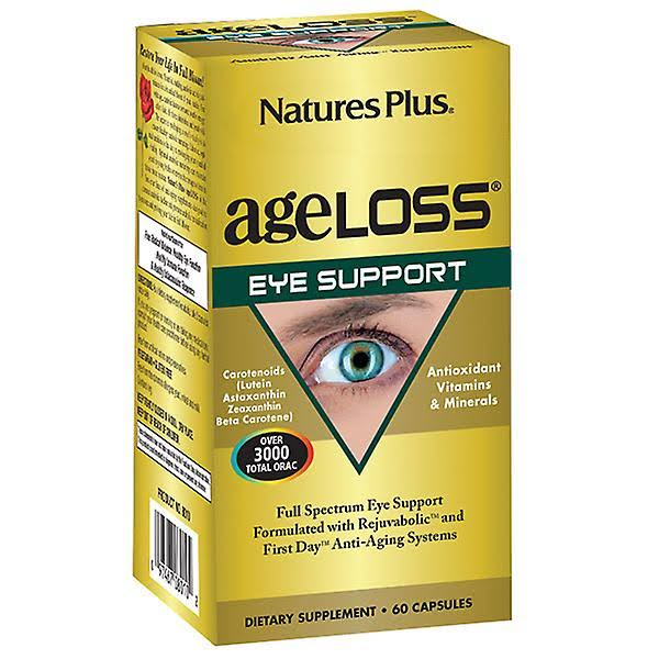 Nature's Plus Ageloss Eye Support Capsules