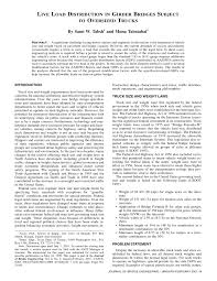 Effects Of Increasing Truck Weight Limits On Highway Bridges In ... Road Signs In The United States Wikipedia Revised Weight Limits For Bridges Add Time Money Wisconsin Are Double Trailers Cost Effective Transporting Forest Biomass Nyc Dot Trucks And Commercial Vehicles Chapter 3 Concept Of Recommended Methodology Esmating Bridge One Primary Duties Vehicle Division Is Child Passenger Safety Tennessee Traffic Resource Service Effect Of Truck Weight On Bridge Network Costs Request Pdf Michiana Area Council Of Governments 2007 Truck Route Inventory