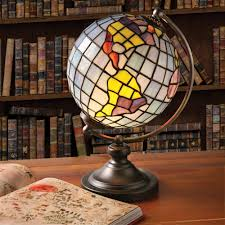 Smoking Lamp Is Lighted by World Globe Lamp Ebay