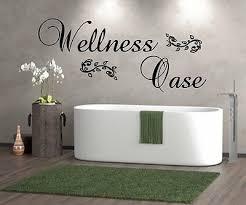 wt 201188 wandtattoo wellness oase wandsticker badezimmer sauna bad schlafzimmer