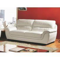 canapé en cuir blanc canape cuir blanc achat canape cuir blanc pas cher rue du commerce