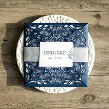 Blue Gold Wedding Invitations Navy Mixed With Your Creativity Will Make This Looks