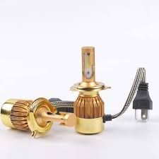 c6 led gold 36w 3800lm 1year warranty bulb size h1 h3 h4