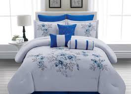 duvet Amazing Navy Blue And White Bedding Sets Simple Classic