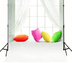 5x7ft Interior Window Curtains Children Baby Photo Studio Decor Backgrounds Computer Painted Floor Photography Backdrop Vinyl