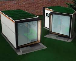 Home fice Sheds Stephen Meir s Concept Integrates Function and