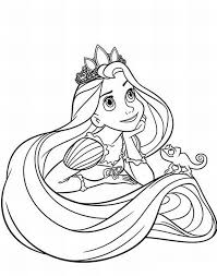Impressive Design Disney Princess Coloring Pages Free Printable For Kids