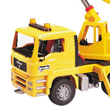 Bruder Toys MAN Yellow Crane Truck With 360-Degree Swiveling Crane ... Bruder Mb Arocs Cstruction Truck With Crane Clamshell Buckets And Nz Trucking Scania R Series Magazine Rseries Liebherr Crane Truck Light Sound Module Vehicle Toys By Bruder Trucks 03570 Walmartcom Arocs With Accsories 3570 Charlies Direct Mack Granite 02818 The Play Room Toy Educational My Lifted Ideas