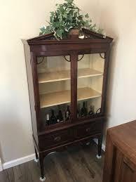 Antique Curio Cabinet Solid Wood Antiques in Newark CA ferUp