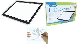 Triumph Desktop Magnifying Lamp by Triumph Led Light Pad A3 Janome Sewing Centre Everton Park
