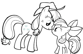 Twilight Sparkle Coloring Page My Little Pony Girls Pages