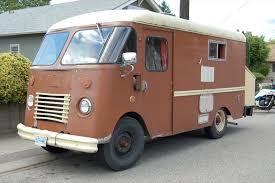 Aluminum Bodied 1957 Chevrolet Stepvan Motorhome Grumman RV Tags Old Classic Truck Found