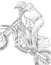 Dirt Bike Drawings