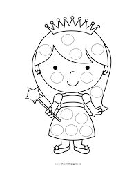 Do A Dot Free Printable Coloring Pages
