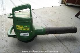 2580 Super Weedeater Electric Leaf Blower Runs Of Standard 110