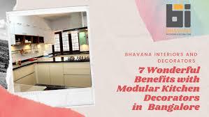 Interior Designers For Kitchen In Bangalore Bhavana 7 Wonderful Benefits With Modular Kitchen Decorators In