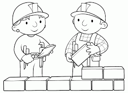 Bob Builder Colouring Pages Page 3