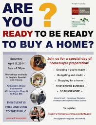 FREE Home Stretch Class For First Time Buyers On April 5 2014 Register By March 31st Seating Is Limited