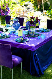 Purple And Blue Wedding Table Decor Luxury Decorations With Pink