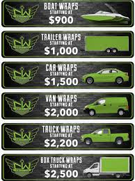 100 Truck Wrap Cost How Much For My Vinyl CW S