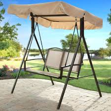 Walmart Outdoor Furniture Replacement Cushions by Patio Ideas Patio Swing With Canopy Replacement Patio Swing
